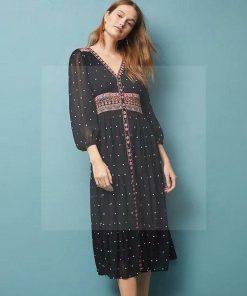 Hippie Kleid sehr schick
